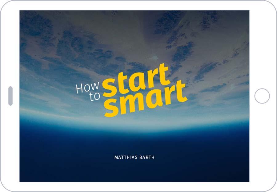 How To Start Smart – Titelseite